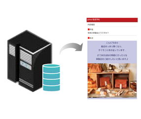 メール配信設定保存