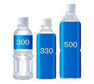 宣伝水ボトルは3種類